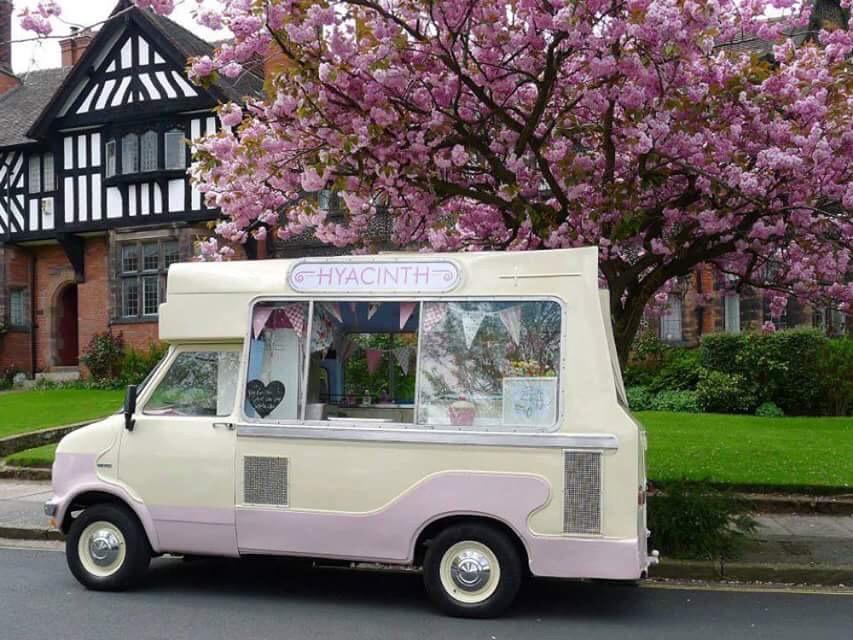 vintage ice cream van tipi cheshire