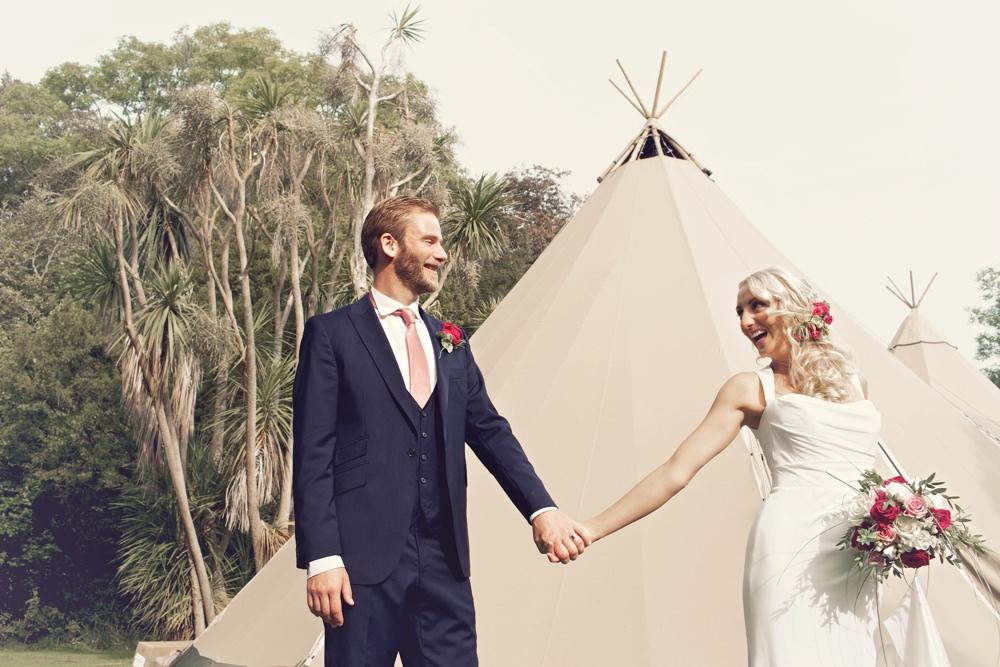 Susie and Rob's wedding at Tros Tr Afon