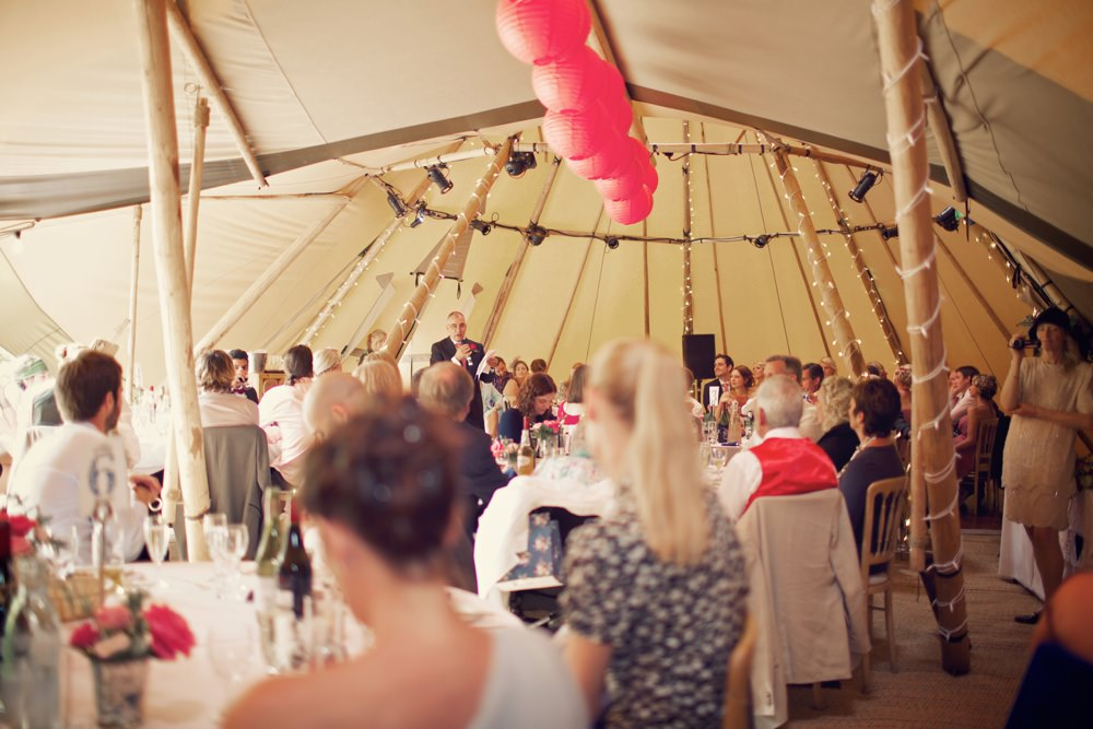 the speeches in the tipi
