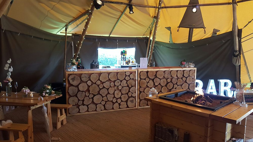 tipi hire bar cheshire