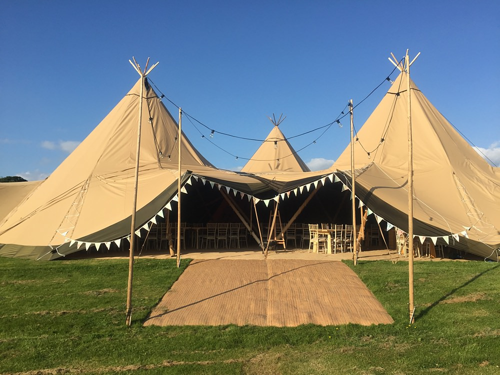 festoon light entrance all about me tipis