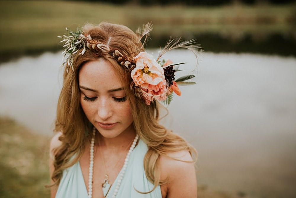 pretty boho bridal inspiration