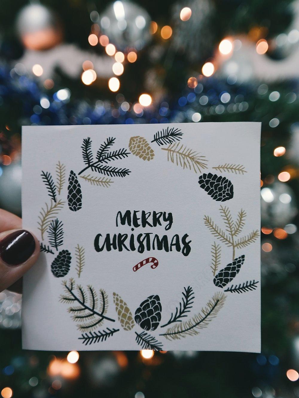 Merry Christmas Tipi festive details