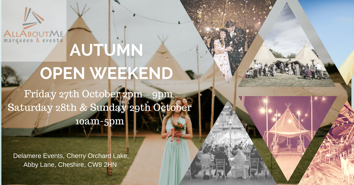 Autumn Open Weekend 27th 28th & 29th October-2