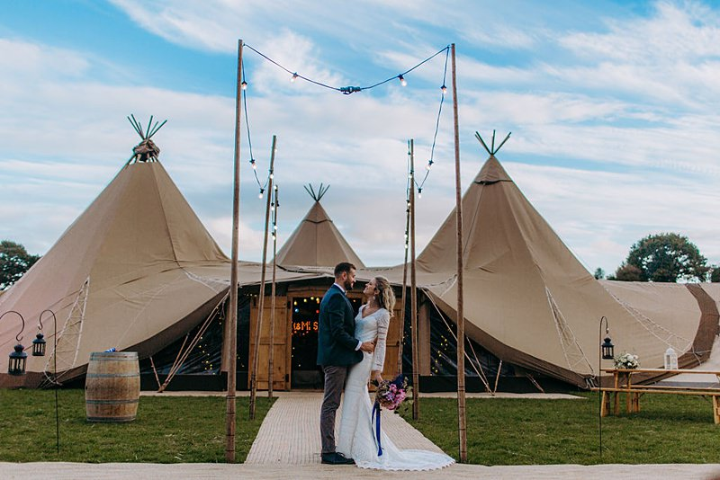 All About Me Tipi Wedding Cheshire