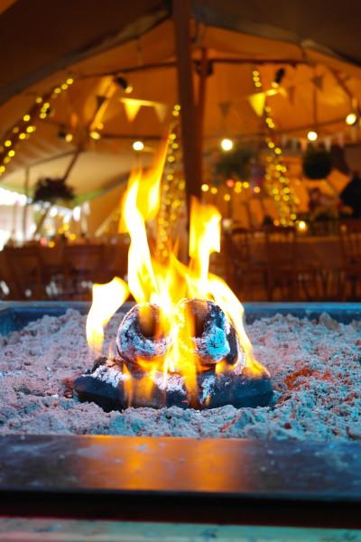 Fire Pit Tipi