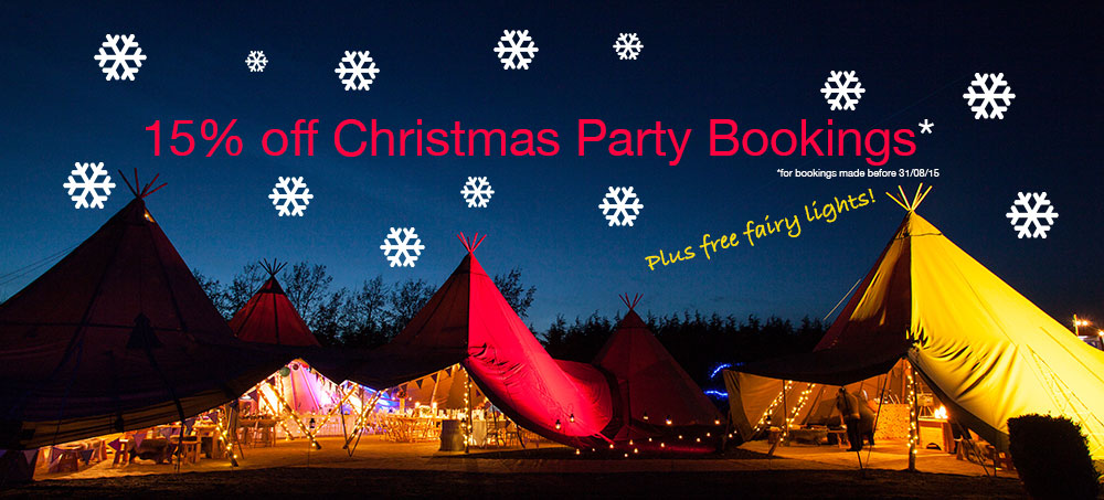 Christmas office Party Tipi