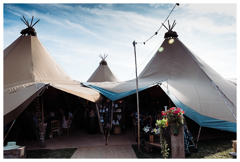 tipi wedding all about me