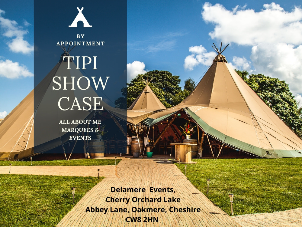 all about me tipi showcase