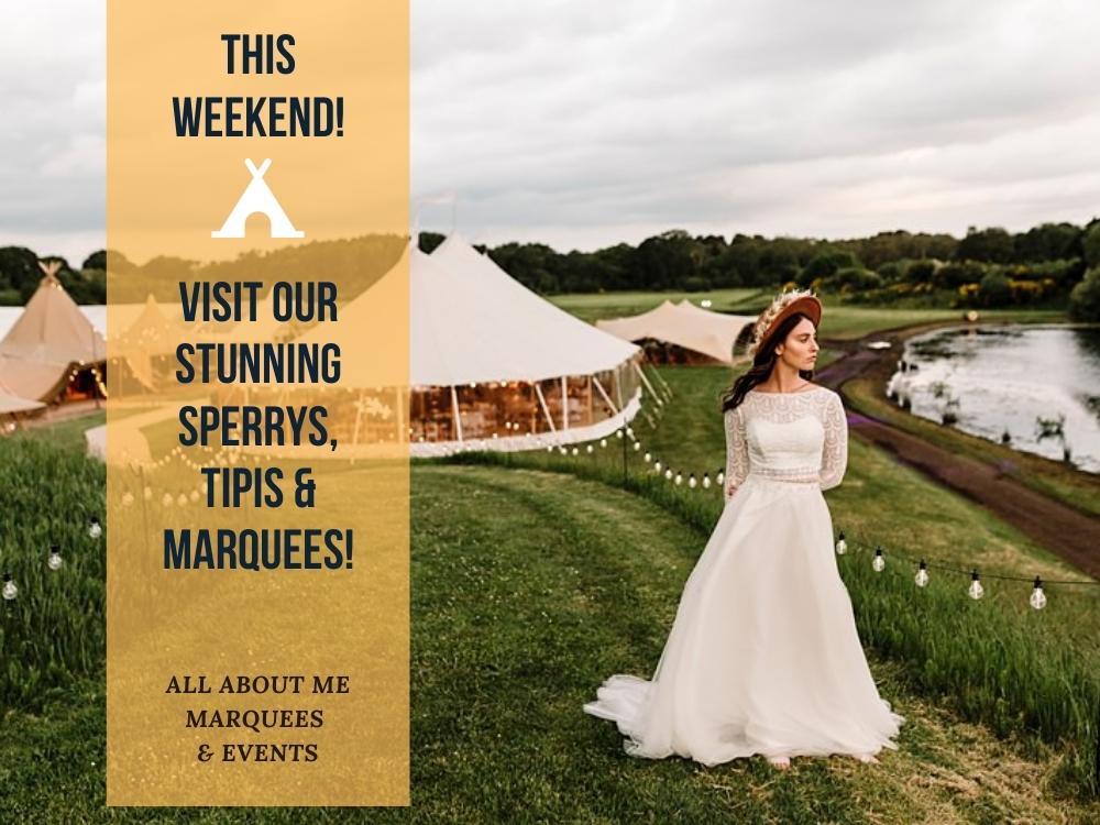 Open weekend! Sperry tents